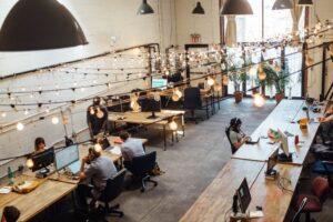 mobili ufficio coworking