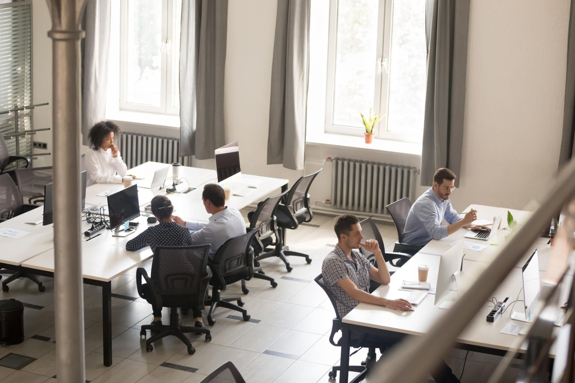 vantaggi ufficio condiviso
